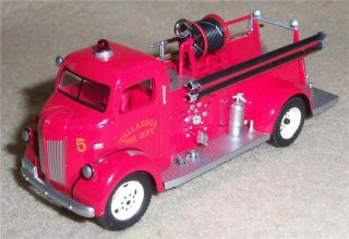 "2013 Hallmark Fire Brigade 11 ""1941 Ford Fire Engine"" Truck Ornament Lighted"