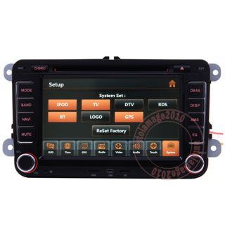 Car GPS Navigation Radio HD Touch Screen TV DVD Player for 2010 VW T5 Caravelle