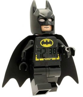 New Lego DC Universe Super Heroes Batman Digital Minifigure Clock
