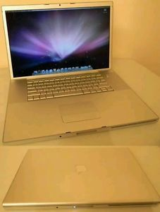 "Apple MacBook Pro 17"" Laptop A1151 Bundled with New Battery Charger"
