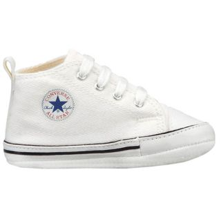 Converse Chuck Taylor All Stars Crib Kids Shoes White footwear Baby All Sizes