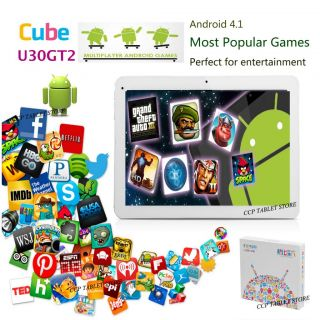 Cube U30GT2 RK3188 Quad Core Tablet PC Bluetooth HDMI 10 1 inch Android 4 1