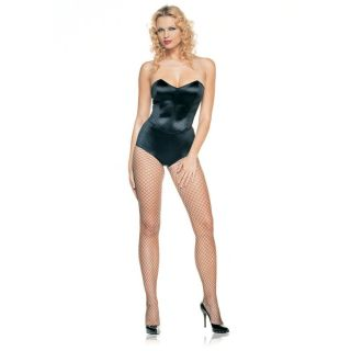 Leg Avenue Pink Strapless Teddy with Boning M