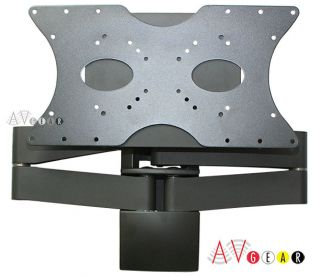 "Articulating TV Wall Mount for 26 32 37 42 46"" HDTV Tilts and Swivel New"