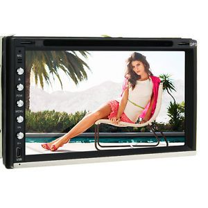 "6 95"" LCD Touch 2 RDS USB DIN in Dash 1080p Video Car DVD Player GPS Navigation"
