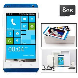Unlocked 4 0''C9600 Android 4 1 Multi Touch Dual Sim GSM Smart Cell Phone 8GB TF