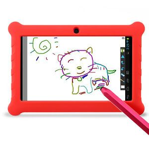 "7"" Google Android Children Junior Kids Learning Tablet PC eBook Reader Stylus"