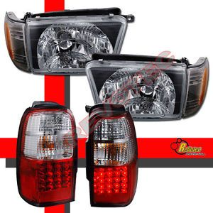 96 97 98 Toyota 4Runner Head Lights Lamps Corner Signal LED Tail Lights