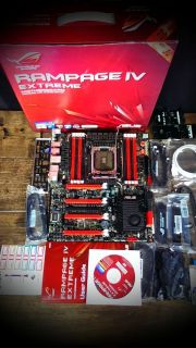 New Open Box Asus Rampage IV Extreme LGA 2011 Intel X79 SATA 6GB s USB 3 0 0610839184545