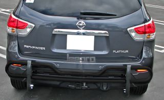 Premium Black Rear Bumper Guard Push Bar Fits 2013 Nissan Pathfinder