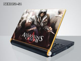 Assassin's Creed II Laptop Notebook Skin Sticker Cover