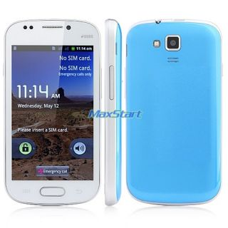 "4"" GSM Unlocked Android Smartphone Cell Phone Dual Sim WiFi FM at T T Mobile"