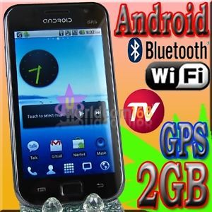 Android TV Mobile Phone Cell Smartphone A9000 Dual Sim Unlocked GSM WiFi  GPS
