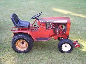Wheel Horse C 121 12 HP Lawn Garden Tractor with Implements