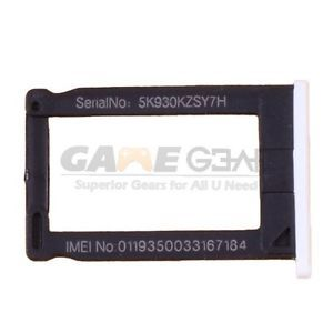 New iPhone 3 3G 3GS Sim Card Slot Tray Holder White