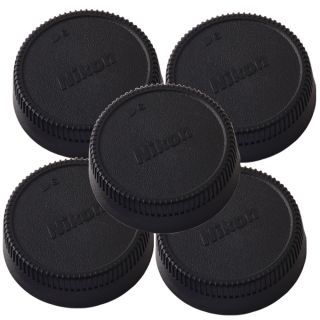 5 Pcs Rear Lens Cap Cover for Nikon AF AF s Lens
