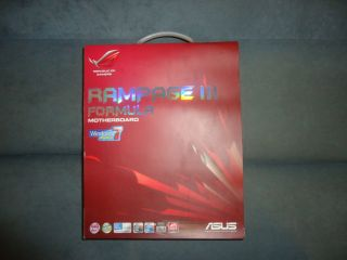Asus Rampage III 3 Formula Republic of Gamers LGA 1366 Socket B x58 Motherboard 0610839177172