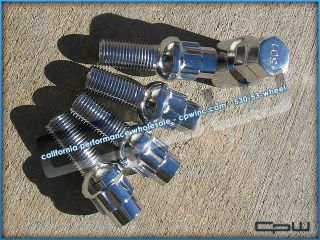 Mercedes Benz Chrome Wheel Lock Set E Class C Class SL Class CLS Class