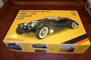 Pocher 1 8 Scale Mercedes Benz 1935 Cabriolet Classic Car Model Assembly Kit
