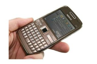 New Nokia E72 Gold Unlocked 3G WiFi 5MP GSM Cellular Phone