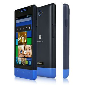 "Cubot C9 Unlocked 4 0"" Android 4 2 GSM Dual Sim Mobile Phone Smartphone Blue UK"