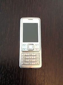White Nokia Unlocked Mobile Phone Arabic Keyboard GSM International