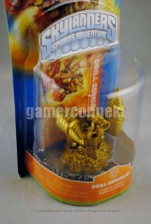 Skylanders Gold Chop Chop Figure Brand New Factory SEALED Extremely RARE