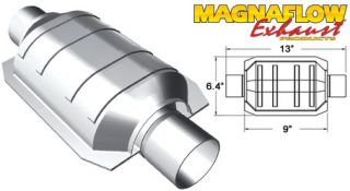 Magnaflow 51013 Universal High Flow Catalytic Converter Grade