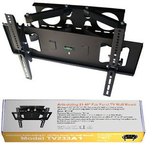 Flat Screen LCD Monitor TV Swivel Wall Mount