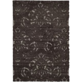 Safavieh Florida Shag Dark Smoke Rug