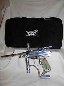 JT Excellerator 6 0 Paintball Gun Semi Automatic Marker w Bag Carrying Case