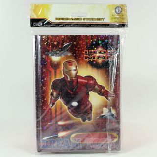 Marvel Iron Man Stationery Diary Notebook