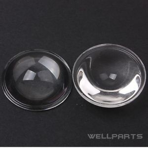 2 Pcs High Power LED 28mm Convex Lens Optical Glass LED Lens
