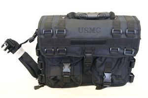 USMC Marine Corps Marines Computer Laptop Utility Messenger Bag Case Attache