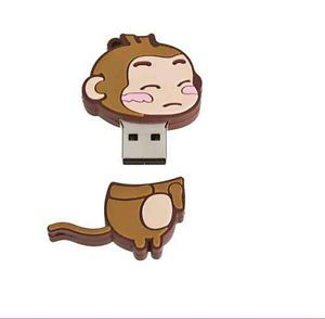 Little Monkey Cute Cartoon Monkey 8GB USB Flash Memory Stick Pen Drive U Disk