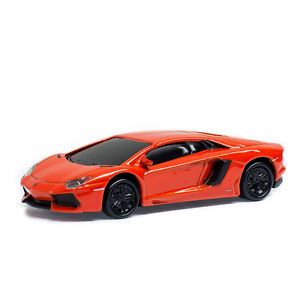 Lamborghini Aventador Sports Car USB Memory Stick Flash Pen Drive 8GB Orange