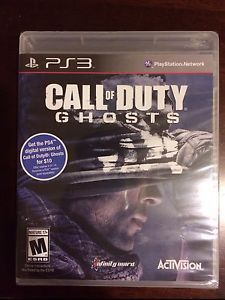 Call of Duty Ghosts Sony PlayStation 3 2013 Factory SEALED Brand New