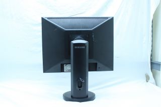 about Samsung Syncmaster 204B 20inch LCD Monitor W/ VGA Cable & Power