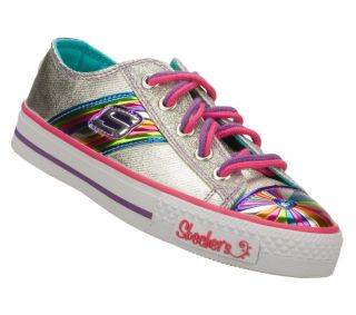 Skechers Sporty Shorty 83999L SMLT Girls Kids Shoes Sneakers Rainbow US Sizes