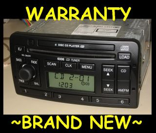 2002 2003 Ford Focus 6 Disc CD Changer Radio 02 03 04