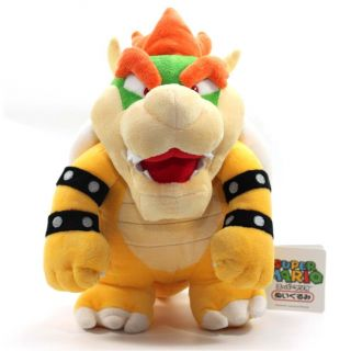 "Nintendo Super Mario 10"" Plush Sanei Doll Bowser"