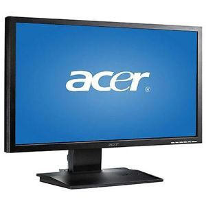 "Acer 24"" LED Widescreen Monitor DVI D B243HL Djobmdr"