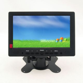 "7"" Touch Screen Display HDMI 1080p RCA AV VGA TFT LCD Monitor for PC POS Car DVD"