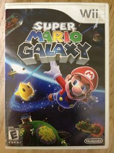 Super Mario Galaxy Nintendo Wii Game Rated E 2 Player