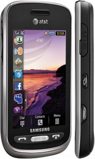 New Samsung SGH A887 Solstice Unlocked Black Phone at T