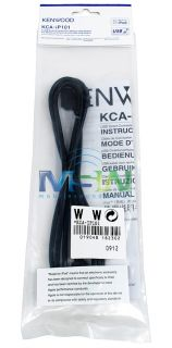 New Kenwood KCA IP101 iPod Adapter Cable for Select Receivers Head Units Radio