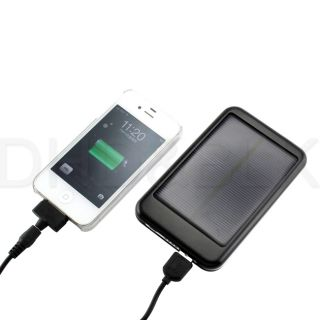 Portable Solar Panel Power USB Battery Charger for Mobile Phone Digital Devices