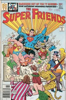 Super Friends 1 Wonder Woman Batman DC TV 1976 FVF 7 0