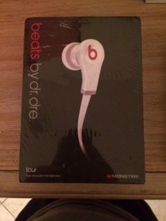 Monste Beats by Dr Dre Tour in Ear Headphones Black New in Factory SEALED Box 0005064497612