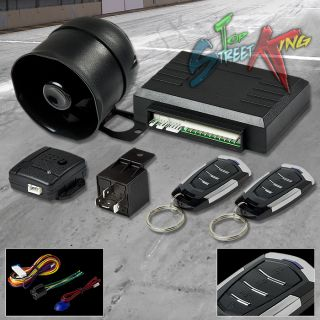 Car Auto Security Alarm System Siren Keyless Entry Multi Function Remote T11
